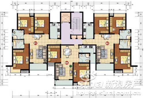 度假酒店客房平面图图片大全 酒店 集中式客房设计作品 平面