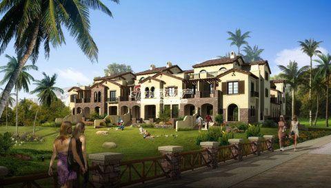 项目整体规划建筑面积约为50万平方米,涵盖双拼别墅,联排别墅,花园