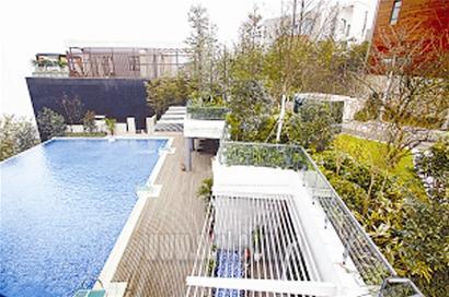 重庆别墅引发5000万元房产推出质疑(图)_平米别墅图片