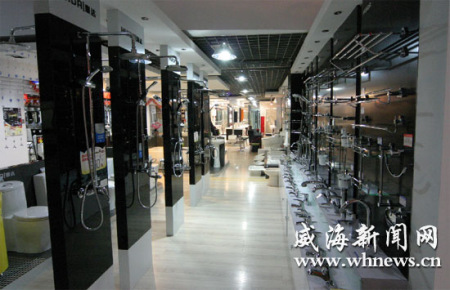 威海建材家居市场:蓄芳只待花开日(组图)