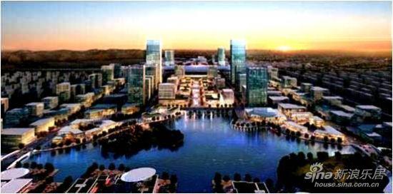 锡东新城规划图