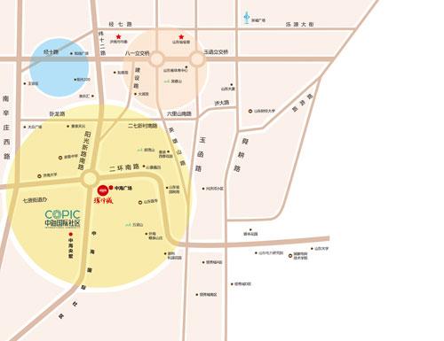 中海环宇城区位图
