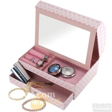 组图:甜美家居小点缀 可爱的公主收纳盒