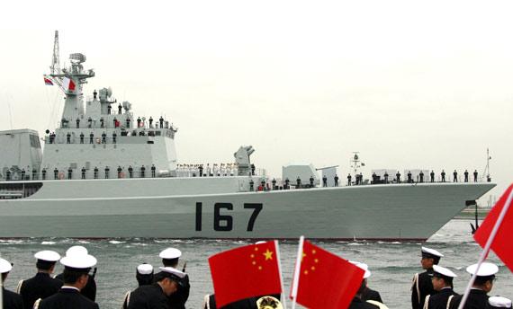 日本上将称中国军舰访日开启防务交流新篇章