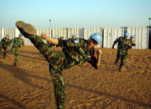 中国截至07年底共派出9000多名维和士兵(图)