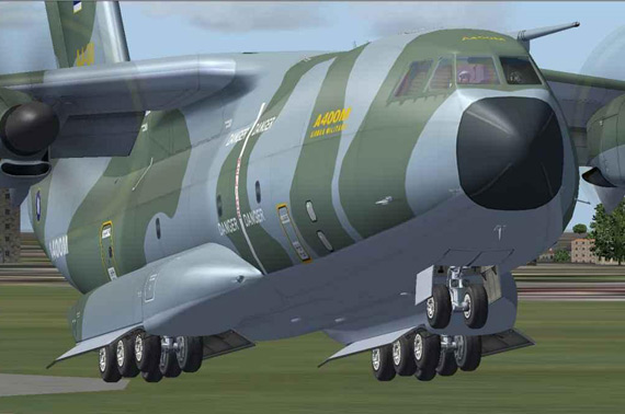英国防部再次推迟A400M运输机服役时间(图)
