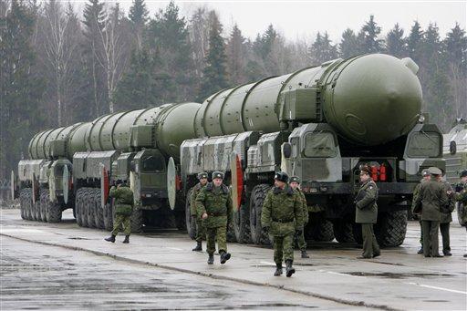 俄罗斯重型武器将亮相红场大阅兵再现往昔雄风