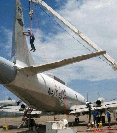美公开中美撞机原因:美军机监听中国海南基地