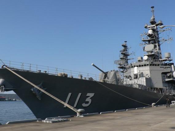 日本军舰二战后将首次现身中国港口友好访问