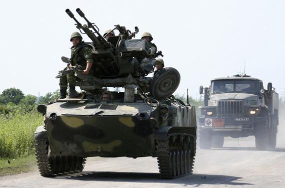 俄罗斯防空部队进入阿布哈兹附近准备作战