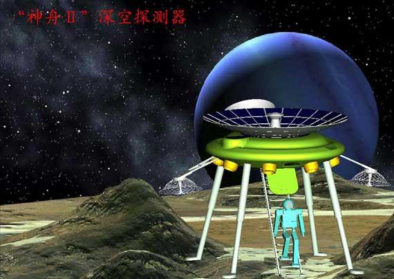 """""""神舟Ⅱ""""深空探测器"""