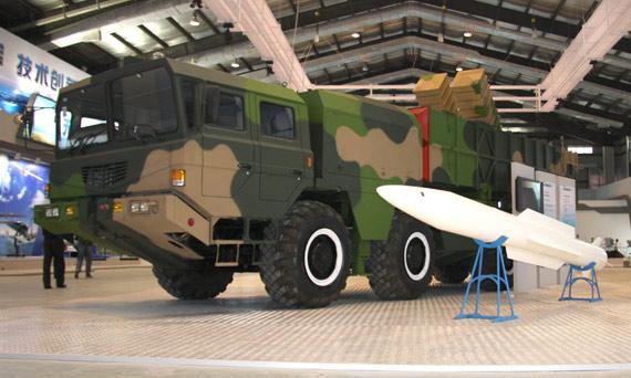 我国首次展出SY400远程制导火箭炮系统(组图)
