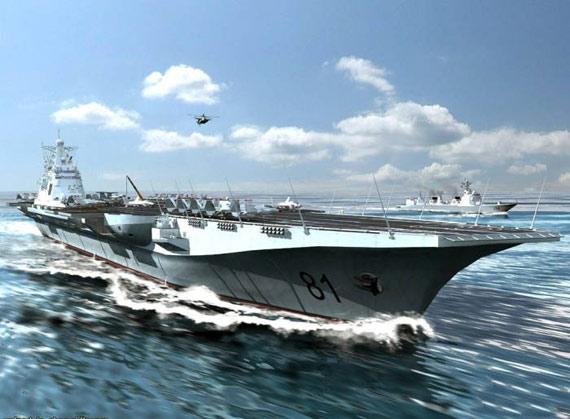 资料图:网友制作的中国未来航母战斗群