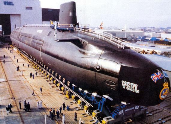 """英国""""前卫""""号核潜艇"""
