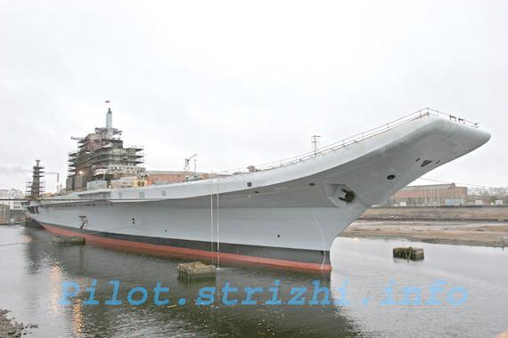 俄正在为印度改装二手航母