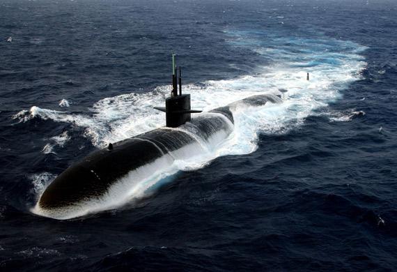 资料图:美国海军洛杉矶级攻击型核潜艇