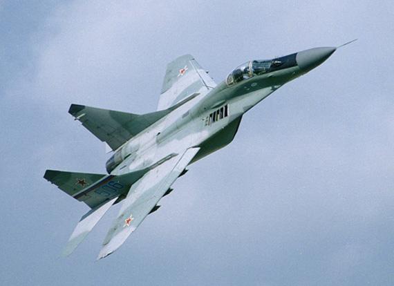 资料图:俄空军米格-29战斗机