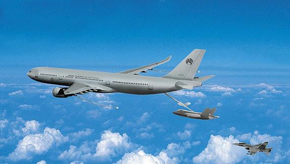 空中客车公司生产的A330MRTT型加油机