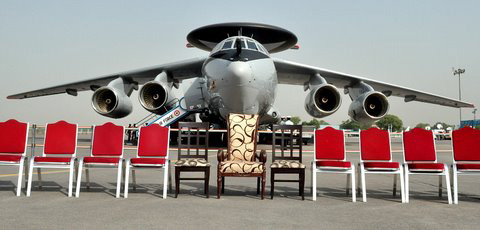 India Air Force AWACS aircraft have been deployed in the first Sino-Indian border near the