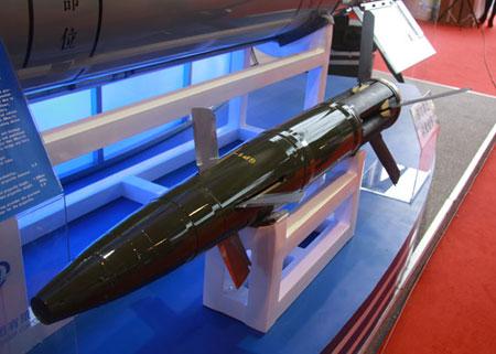 国产GP-1型155毫米激光末制导炮弹
