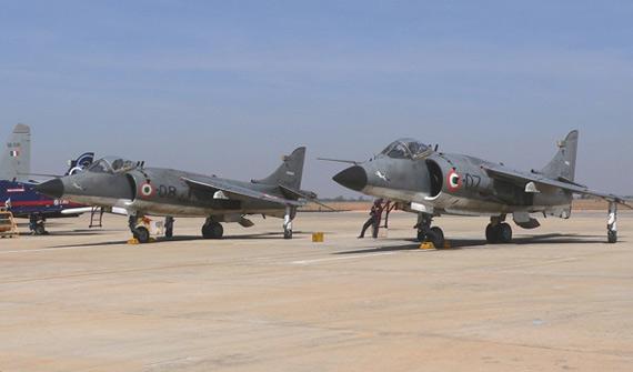 印度海军下令停飞所有海鹞垂直起降战斗机