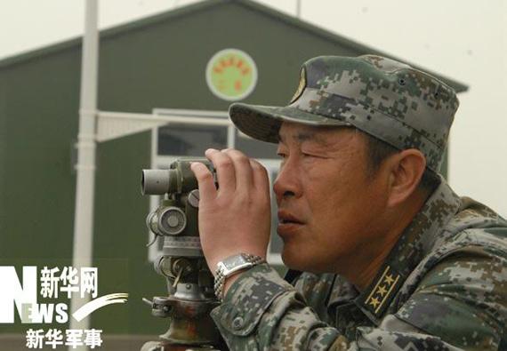 坦克第一方队方队长王喜富[坦克第一方队供图]