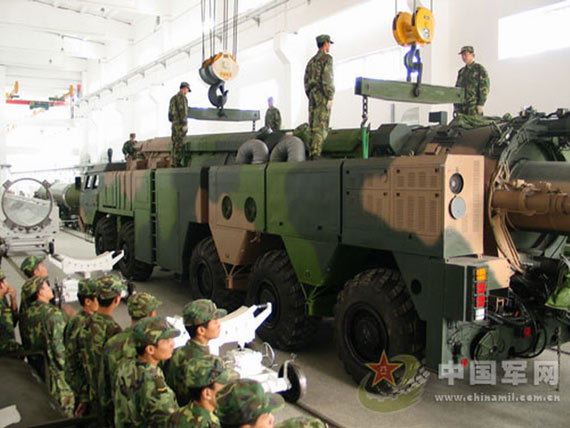Second Artillery Corps, the new missile lifting operations