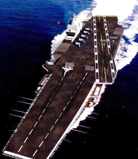 美智库评估中国单个航母战斗群成本约100亿美元