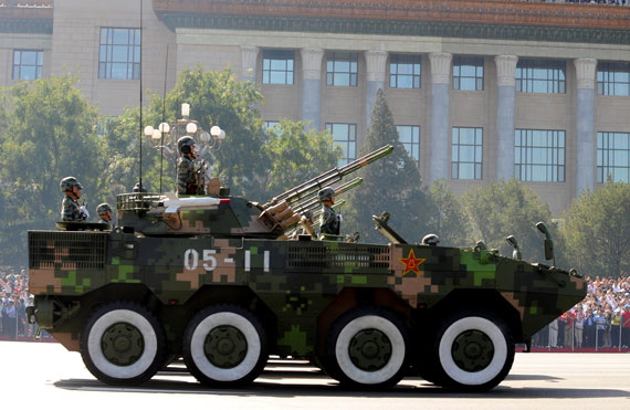 俄媒:中国ZBD-09战车采用模块化设计性能先进!!