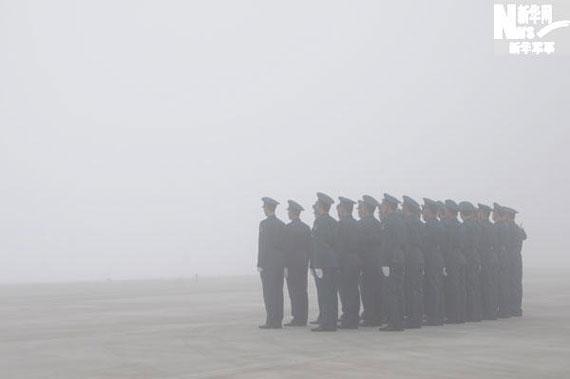 空军再次确定飞行表演时间 15日上下午各一场!!