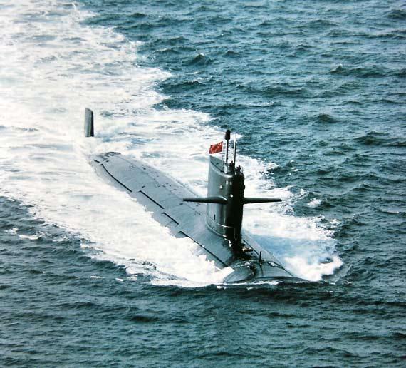 中国海军新型核攻击潜艇