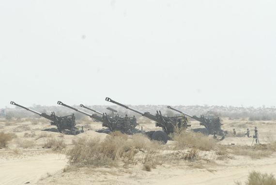 印度军队在中印边境举行军演针对中国意图明显