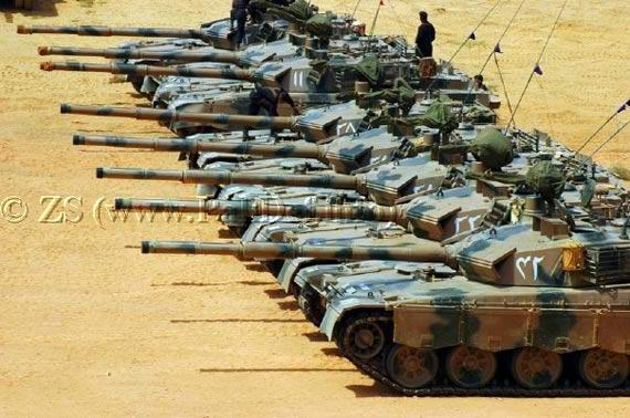 Pakistan The Army has a lot of equipment MBT2000 main battle tank 