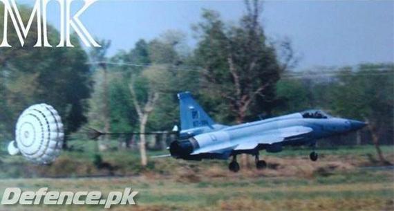 资料图:枭龙战机已经出口巴基斯坦空军