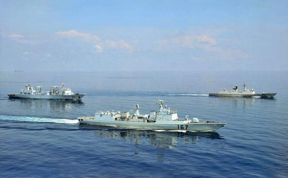 中国海军护航编队