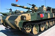 我军122毫米自行榴弹炮参演