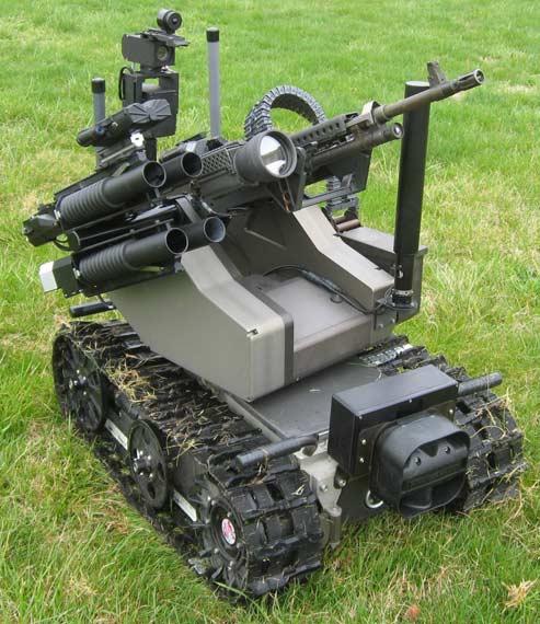 """美国""""模块化先进武装机器人系统"""""""