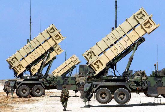 资料图:台军的爱国者-2导弹防御系统
