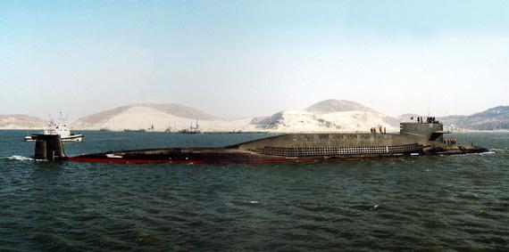 中国海军装备的新型战略核潜艇
