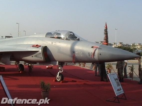 资料图:巴基斯坦空军列装的枭龙战机