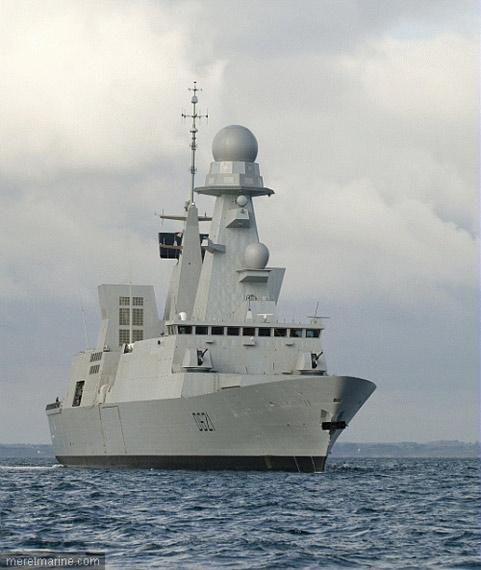 法国海军第二艘地平线级隐身导弹驱逐舰