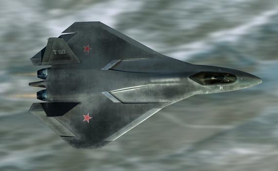 俄罗斯网友设计的第五代战机T-50设想方案图