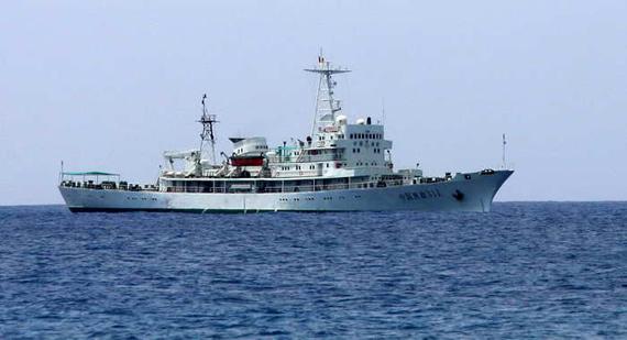资料图:我国渔政311号巡逻船