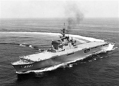 """日本""""大隅""""级两栖运输舰"""