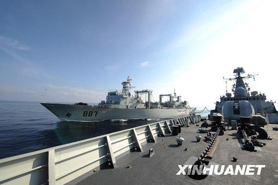 中国第5第4批护航编队将执行2次联合护航任务