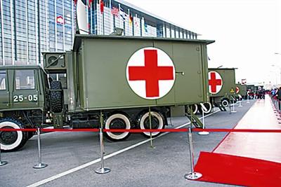 野战医疗方舱。
