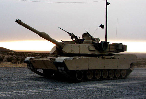 reported that the General Dynamics developed M1A2