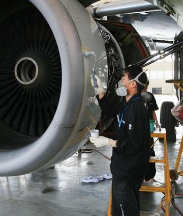 提前完成a320/6008飞机5c定检工作