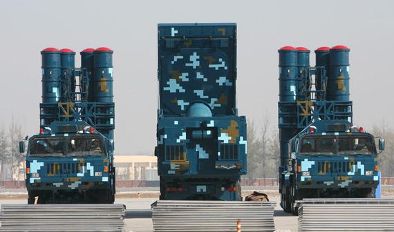 中国红旗9远程防空导弹系统