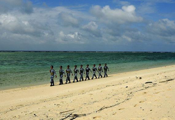 澳称:中国军队在亚洲地图画了一条红线谁敢逾越?